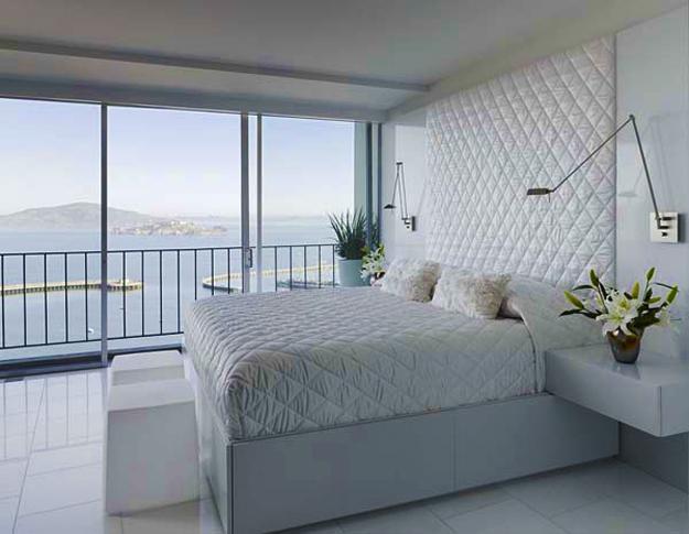 Contemporary Bedroom Design In White