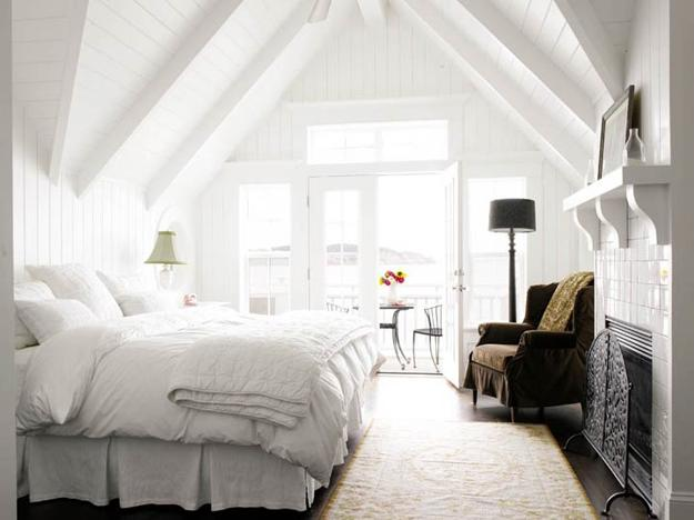 25 Modern Ideas For White Bedroom Decorating