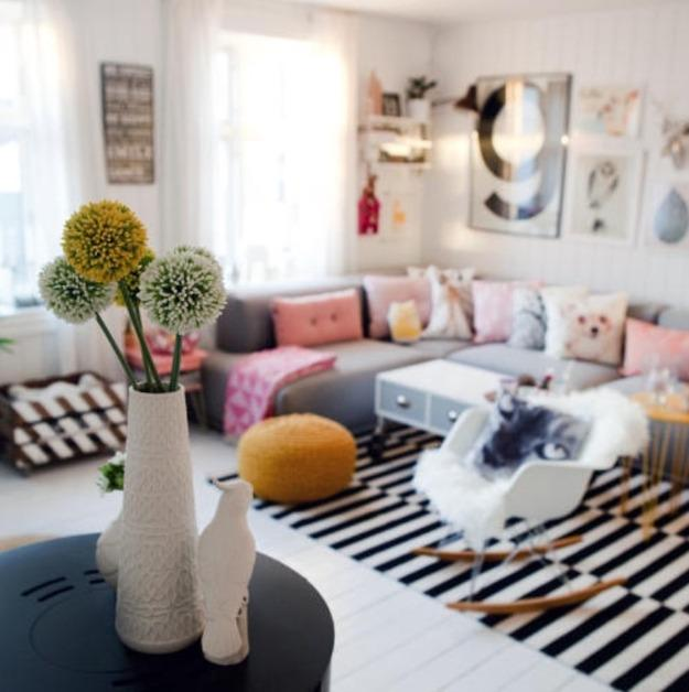 Home Decoration And Furnishing Articles Couple Characters: Happy Scandinavian Home Decorating Ideas Inspired By Nature