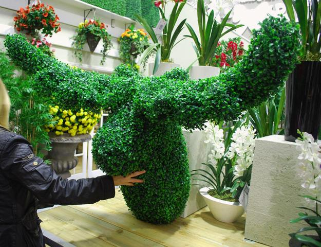 Topiary Home Decorations Bringing Green Designs Into