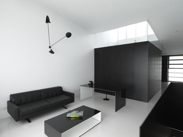 Black And White Decorating Ideas, Modern Interior Design In Minimalist Style
