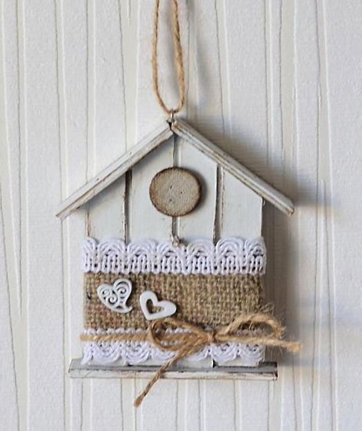 Handmade decorative birdhouses adding personality to for Handcrafted decorations home