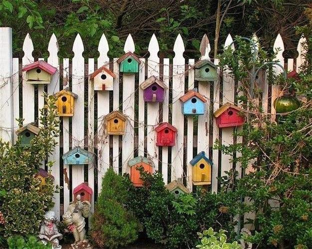 Paper crafts for home decorating, birdhouse light