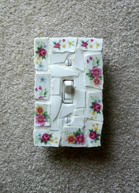 Recycled Crafts Smart Decorating Ideas For Switches And