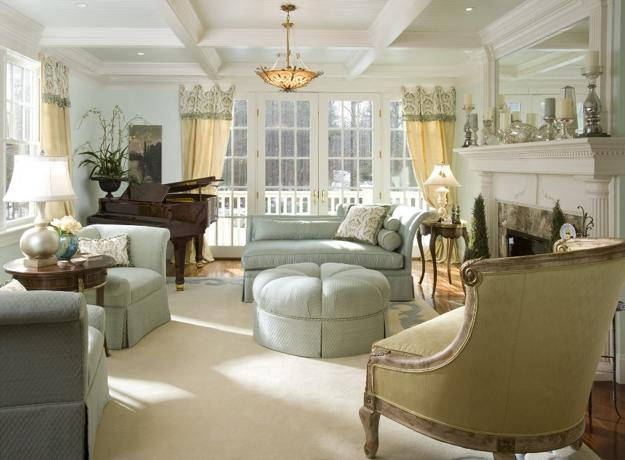 interesting french style living room | Exquisite French Decorating Ideas, 22 Elegant and ...