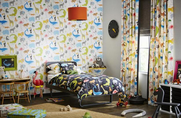 Kids Wallpaper For Modern Children Bedroom Decorating