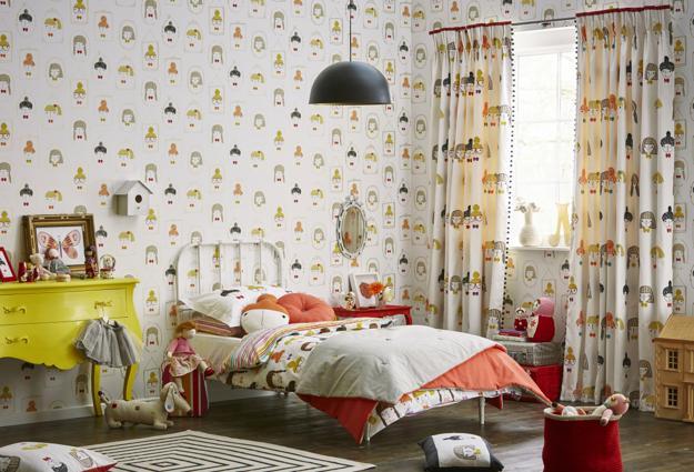 Bedroom Decor Wallpaper modern wallpaper patterns inspiring children bedroom decorating