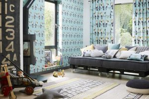 children bedroom decorating themes and bedroom colors inspired by beautiful wallpapers