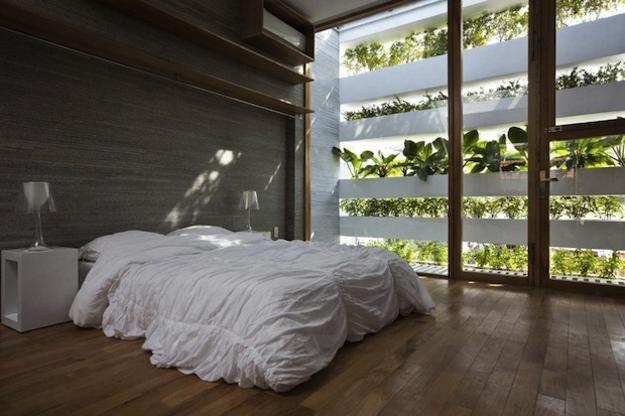 Modern bedroom decorating in eco style. 20 Relaxing Interior Decorating Ideas in Eco Style