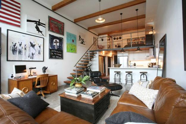 Modern Interior Decorating Ideas in Loft Style, 15 Beautiful Loft ...