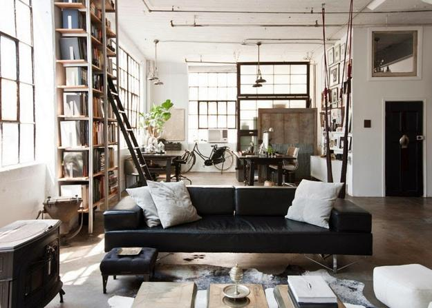 Modern interior decorating ideas in loft style 15 for Modern interior design styles