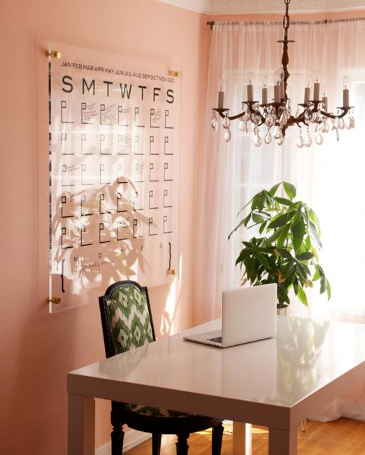 20 cheap ideas to create diy calendars for unique wall - Photo decoration on wall ...