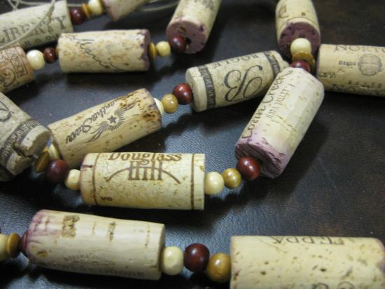 green ideas to recycle for crafts and home decorations designed with wine corks