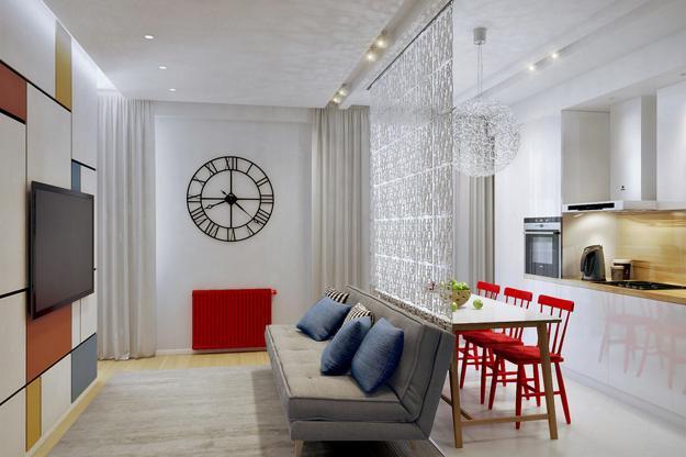 Modern interior design decorating ideas room colors for Arredare un bilocale