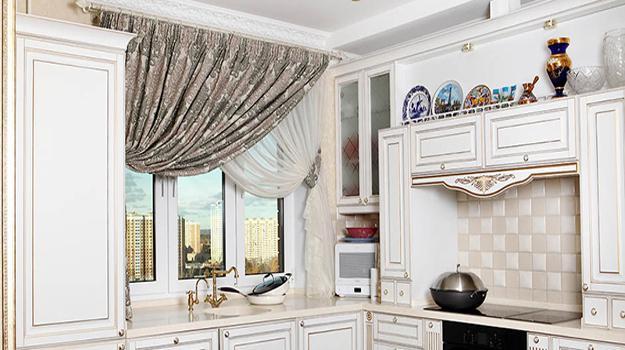 window treatment ideas for modern kitchens
