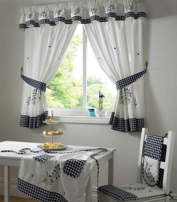 25 Creative Ideas For Modern Decor With Beautiful Kitchen Curtains