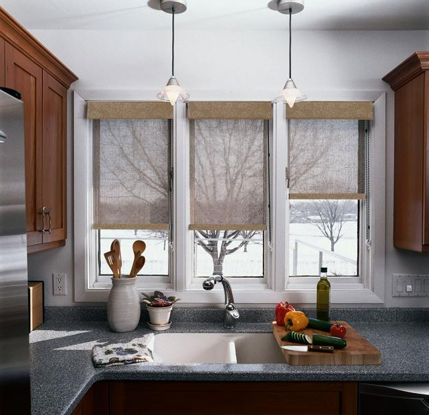 Kitchen Window Furnishings: 25 Creative Ideas For Modern Decor With Beautiful Kitchen