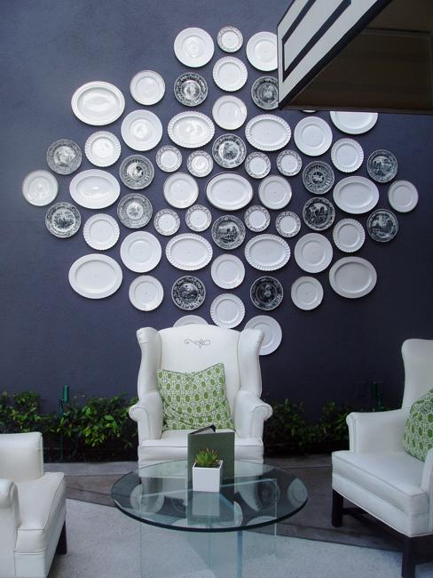 Plates On Wall Ideas