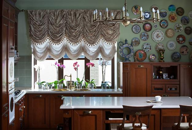 decorative accessories for empty walls decorative plates arrangement ideas