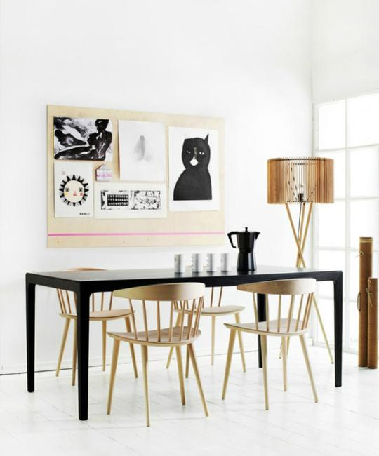 20 top diy ideas for unique and modern wall decor for Unique dining room wall art