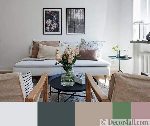 neutral colors living room design