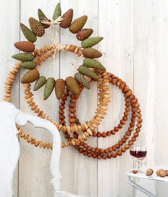 acorn wreath ideas