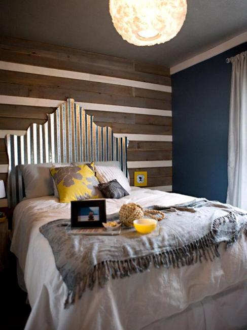 Smart Recycling and Creative Bed Headboard Ideas