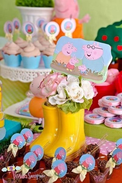 kids party ideas floral centerpieces decorations