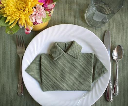 shirt napkin