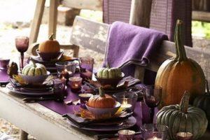 purple colors pumpkin