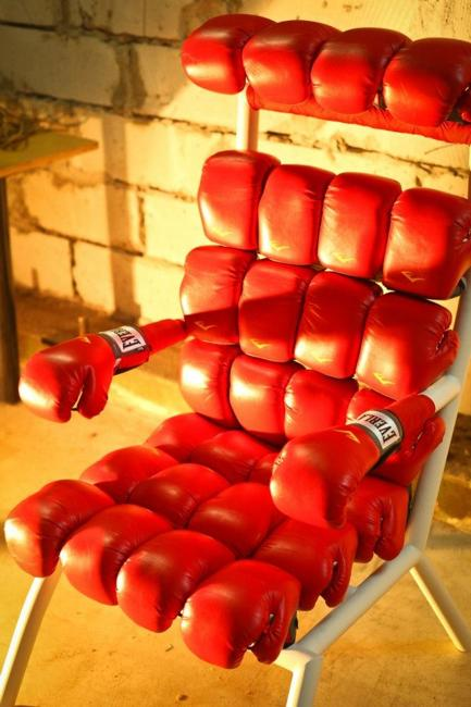 designer furniture red chair