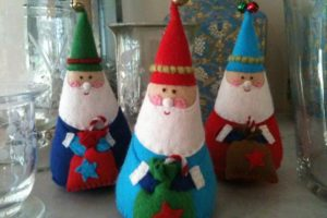 christmas decor white red colors