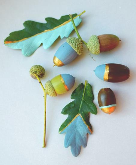 painting ideas acorns